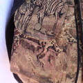 Messenger bag, tapestry fabric with adjustable strap