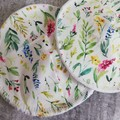 Leafy Garden Bamboo Reusable breastfeeding pads