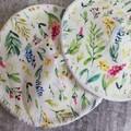 Leafy Garden Bamboo Reusable breastfeeding pads
