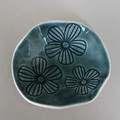 Small Blue Flower Dish