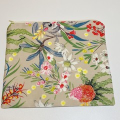 Hidden possum fabric pouch