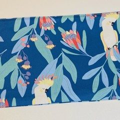Cockatoo Floral pouch