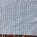 Baby Blanket Hand Crochet Baby Blue