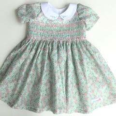Margaret Smocked Dress