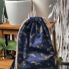Harry Potter/Hedwig drawstring backpack
