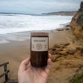 Beachside Beer Bottle Candle