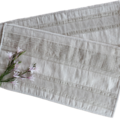 Table runners for the modern home, reversible