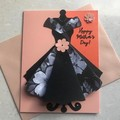 3D Dress card - Mother's Day