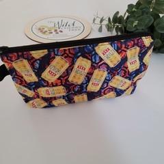 """Zipper pouch """"4xgold"""" organiser"""