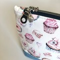 Cake and Sweets Zippered Bag