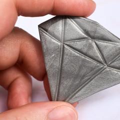 Diamond Pin   Diamond Brooch   Polymer Clay   Resin