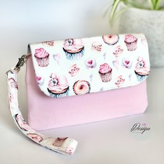 Cake and Sweets Clutch Purse