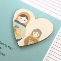 Mother's Day Card,  Personalised, Babushka Dolls, Happy Mother's Day, Mum, Oma