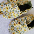 Summer Daisy soft soled shoe
