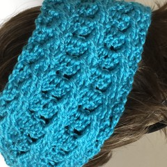 Hand crocheted headbands / ear warmers