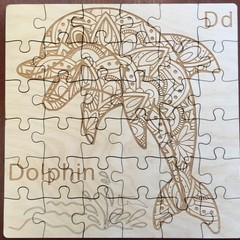 Dolphin Jigsaw Puzzle - 36 Pieces