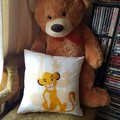 """""""Lion King"""" Reversible Cushion Cover"""