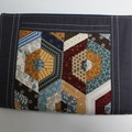 A5 Note Book Patchwork Journal Fabric Quilted Cover