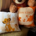 """Lion King"" Reversible Cushion Cover"