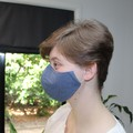 Washable 3-Layer Cotton Face Mask with Nose Wire