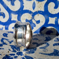 Melt With Me Silver Ring