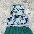 Kingfishers Hanging Hand Towel