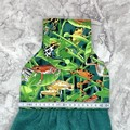 Bright frogs Designer Hand Towel