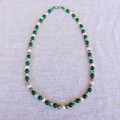 Green & Pearl Necklace