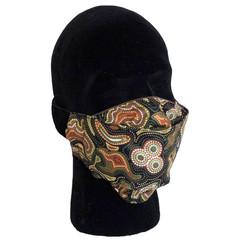 3D face mask, cotton, 4 layers