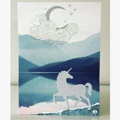 Unicorn moonshine card