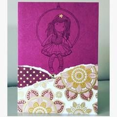 Little girl card
