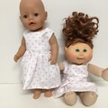 Dolls  Dress to fit Baby Born and Cabbage Patch Dolls