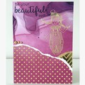 Be your beautiful self card
