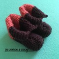 Newborn Knitted Booties