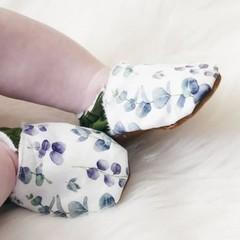 Eucalyptus Green soft soled shoe