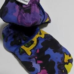 Graffiti  soft soled shoe