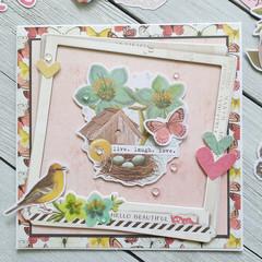 Hello Beautiful Handmade Card