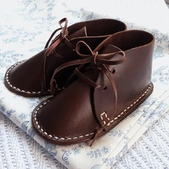 Leather Baby Boots - Up to 6 months