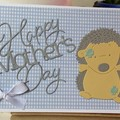 1st Mother's Day Handmade Card  - mum to be