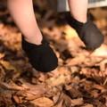 Black soft soled shoe