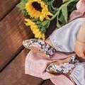 Aurora Pink soft soled shoe