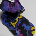 Graffiti  soft soled shoe