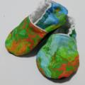 Green Fire soft soled shoe