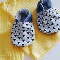 Geometry  soft soled shoe