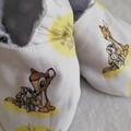 Bambi and Thumper Yellow  soft soled shoe