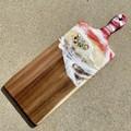Resin Art Cheese Platter Board   Ocean Serving Board   Wooden Chopping Board