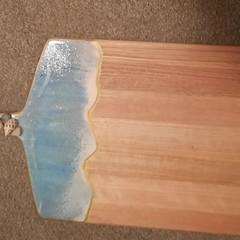 RECTANGULAR  SERVING/CHEESE PLATTER OCEAN THEME