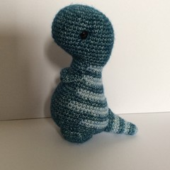 Dinosaur, Dino, Crochet, Amigurumi, toy, gift, nursery, baby, children, child