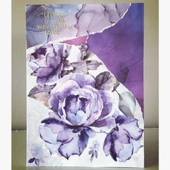 Special to me flower card