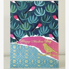 Mother's Day birdie card
